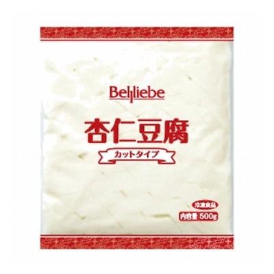 (地域限定送料無料) UCC業務用 ベルリーベ 杏仁豆腐(カットタイプ) 500g 12コ入り(冷凍) (760666000c)