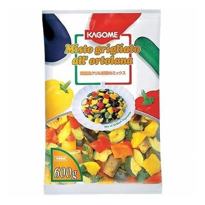 (地域限定送料無料) UCC業務用 カゴメ 菜園風グリル野菜のミックス 600g 10コ入り(冷凍) (781834000c)
