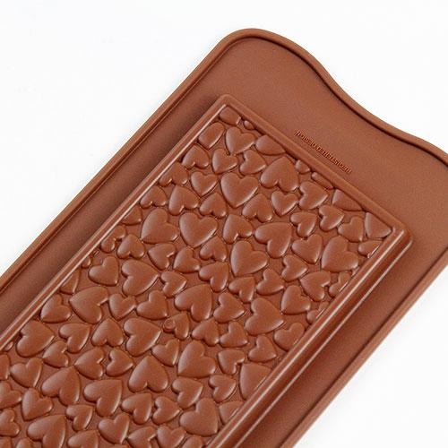 シリコン型 チョコモールド シリコマート 至上 EASYCHOCシリーズ バレンタインに チョコレート型 シリコンモールド Love 安売り Choco お菓子 Bar モルド チョコ型 SCG038 イージーチョコ ショコラ EASYCHOC ラブチョコバー