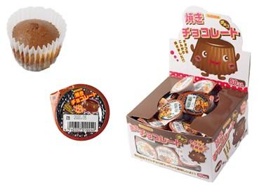 サクサクッ新食感 おみくじ付き 爆安 丹生堂 焼きチョコレートチョコ 驚きの値段で 50個入