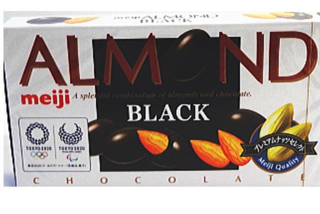 明治 アーモンドブラックチョコレート84g×80個(10入×8)