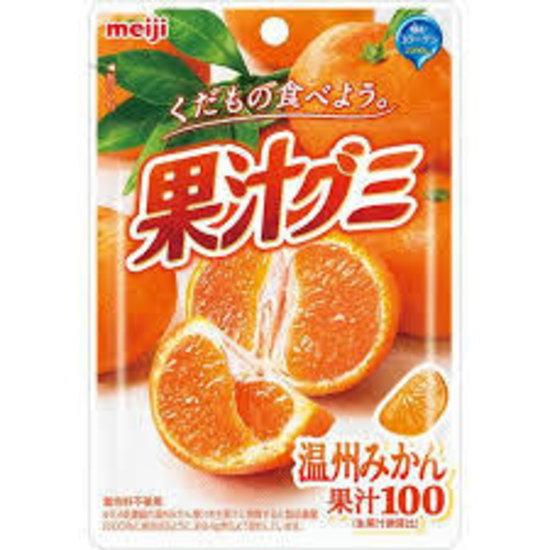 明治 果汁グミ 温州みかん51g×120袋(1ケース)