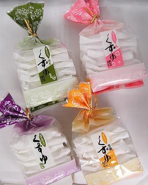 【心ばかりですが…おまけつきます☆】修作製菓くずゆ3種各4袋詰合せ7枚×12袋入