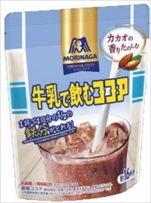 送料無料 北海道 沖縄 離島は1250円頂戴します サービス 200g×12個 牛乳で飲むココア 割引 森永