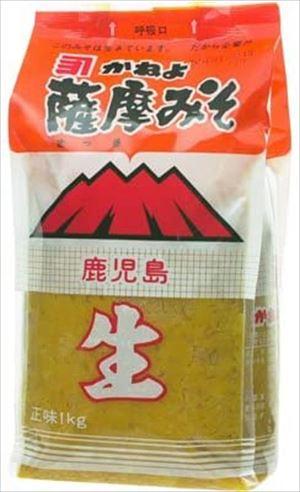 供え 送料無料 北海道 沖縄 離島は1250円頂戴します 1kg×6袋 薩摩みそ 開店祝い かねよ
