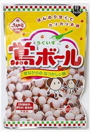送料無料 返品送料無料 北海道 沖縄 離島は1250円頂戴します 海外限定 110g×12個 植垣米菓 鶯ボール