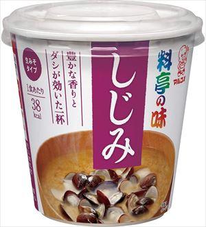最安値挑戦 送料無料 北海道 沖縄 離島は1250円頂戴します マルコメ 料亭の味 カップ 1食×24個 即席味噌汁 しじみ 超特価