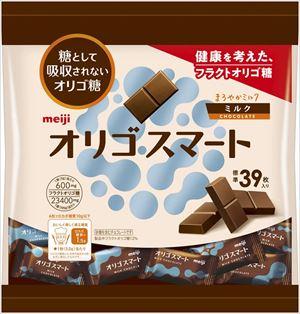 送料無料 北海道 沖縄 離島は1250円頂戴します 明治 激安格安割引情報満載 オリゴスマートミルクチョコレート大袋 195g 超定番 ×12袋