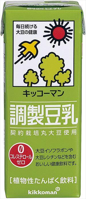 送料無料 直輸入品激安 北海道 沖縄 離島は1250円頂戴します 希望者のみラッピング無料 キッコーマン飲料 調製豆乳 200ml×18本 CS