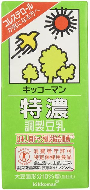 送料無料 セール価格 北海道 沖縄 並行輸入品 離島は1250円頂戴します 特濃調製豆乳 1L×6本 キッコーマン飲料