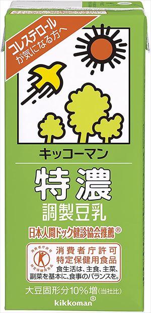 35%OFF 送料無料 北海道 沖縄 離島は1250円頂戴します 再入荷/予約販売! 特濃調製豆乳 キッコーマン飲料 1L×6本 CS