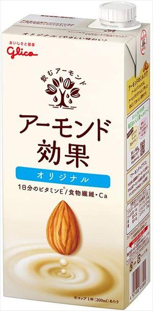 送料無料 北海道 沖縄 卓抜 人気の製品 離島は1250円頂戴します グリコ 1000ml×6本 オリジナル アーモンド効果