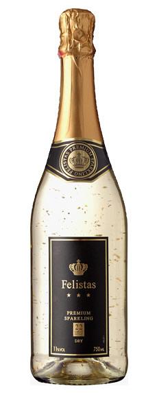 フェリスタス 金箔入りスパークリングワイン 750ml ブランド品 2020春夏新作 箱無し 02P03Dec16 ドイツ