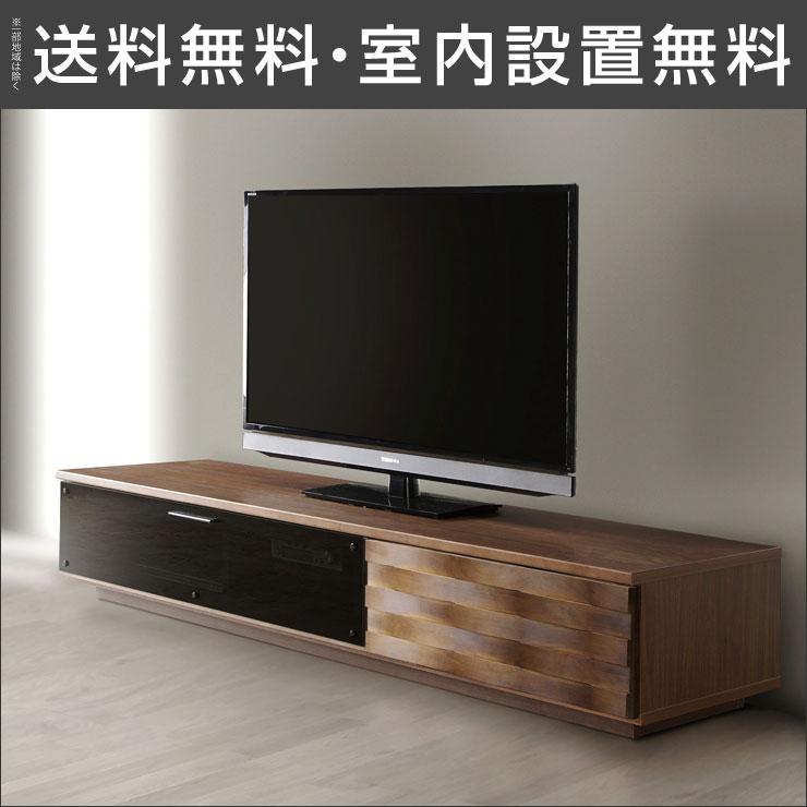 【送料無料/設置無料】 完成品 日本製 モダンなデザインのテレビボード ベーネ (160TVボード)木製 モダン おしゃれ 日本製 スローダウンステイ