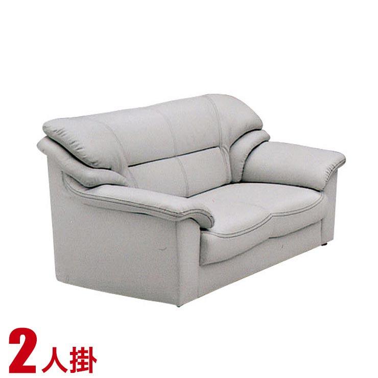 ソファー 2人掛け 合皮 安い ソファ シンプル 高級感のあるおしゃれなソファ ベリーII 2P グレー ソファ ソファー 輸入品 送料無料