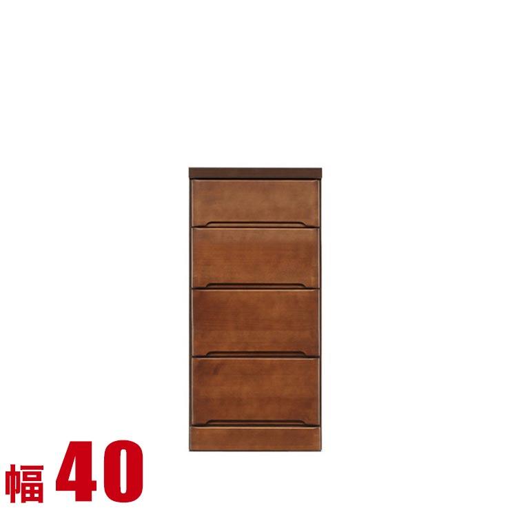隙間収納 わずかなすき間を有効活用 すきま収納 ペティット 幅40 奥行40 高さ84.5 ブラウン リビング収納 キッチン収納 完成品 日本製 送料無料