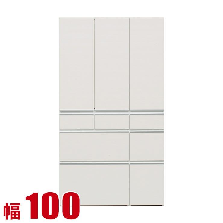 食器棚 収納 完成品 100 ダイニングボード ホワイト レガル 板扉 キッチンボード 幅100cm キッチン収納 キッチンキャビネット 完成品 日本製 送料無料