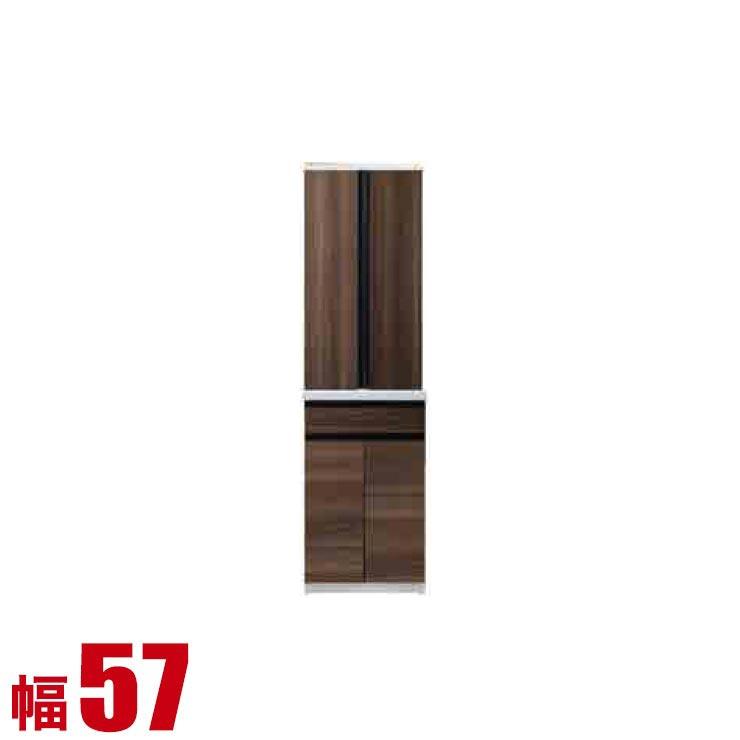 【完成品 日本製 送料無料】 高級 扉とガラスを選べる 食器棚 コローレ ダイニングボード 幅57 奥行50 高さ203.9 ホワイト ブラック