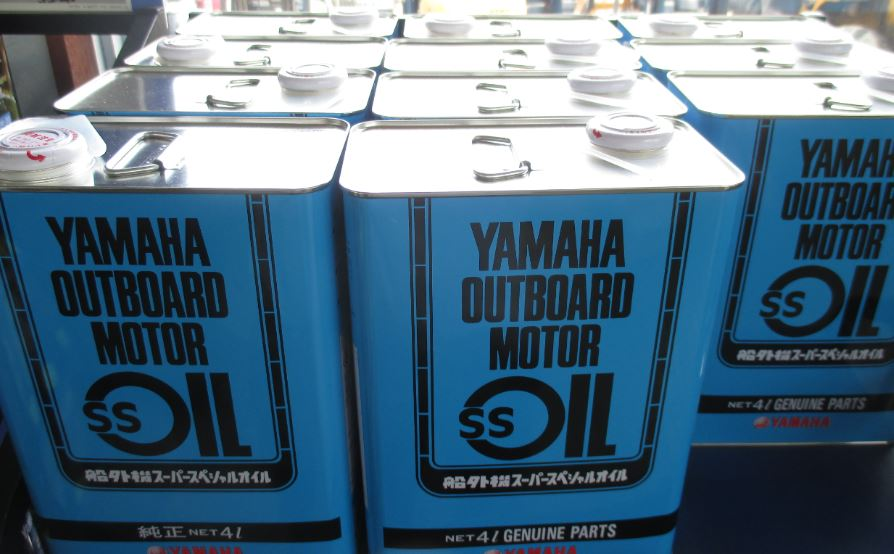 Yamaha outboard motor SS oil 4L 2 stroke engine use