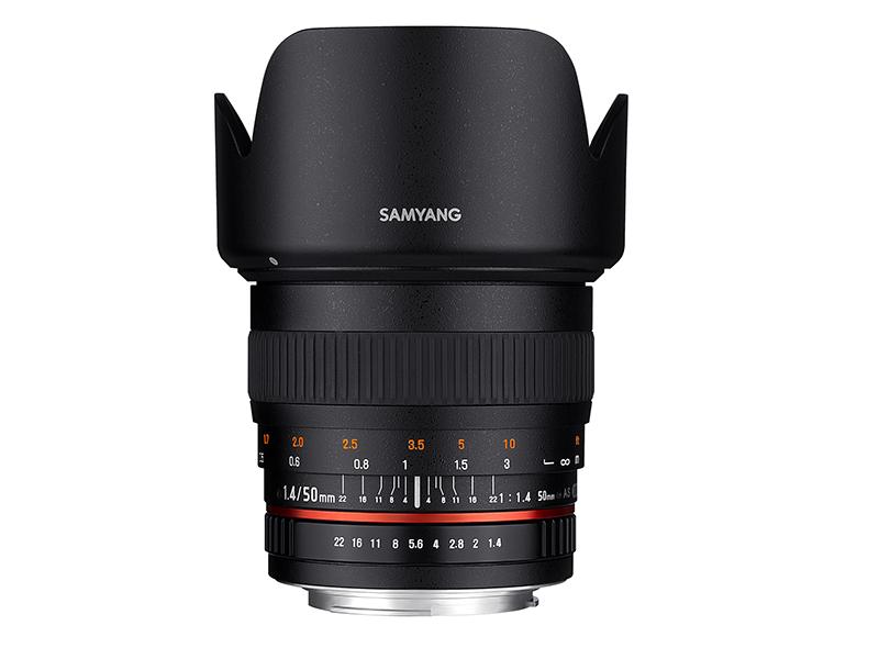 SAMYANG 50mm F1.4 AS UMC【送料無料】【フード付き】【メーカー保証】【店名:アサノカメラ】