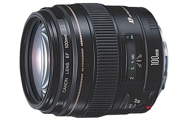 【お取り寄せ商品】Canon EF100mm F2 USM【新品・メーカー保証書付】【店名:アサノカメラ】