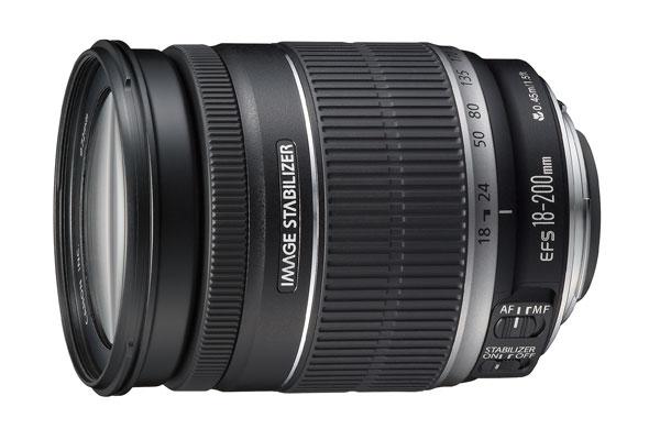【お取り寄せ商品】Canon EF-S 18-200mmF3.5-5.6 IS【新品・メーカー保証書付】【店名:アサノカメラ】