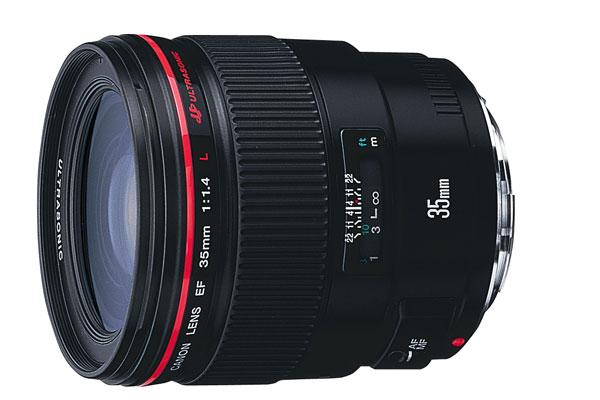 【お取り寄せ商品】Canon EF35mm F1.4L【新品・メーカー保証書付】【店名:アサノカメラ】