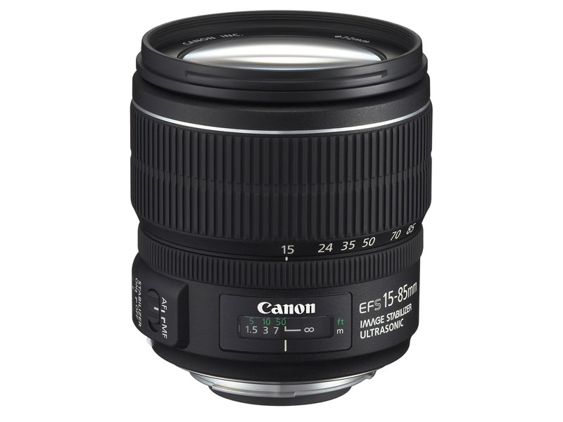 【送料無料】Canon EF-S15-85mm F3.5-5.6 IS USM【新品・メーカー保証書付】【店名:アサノカメラ】