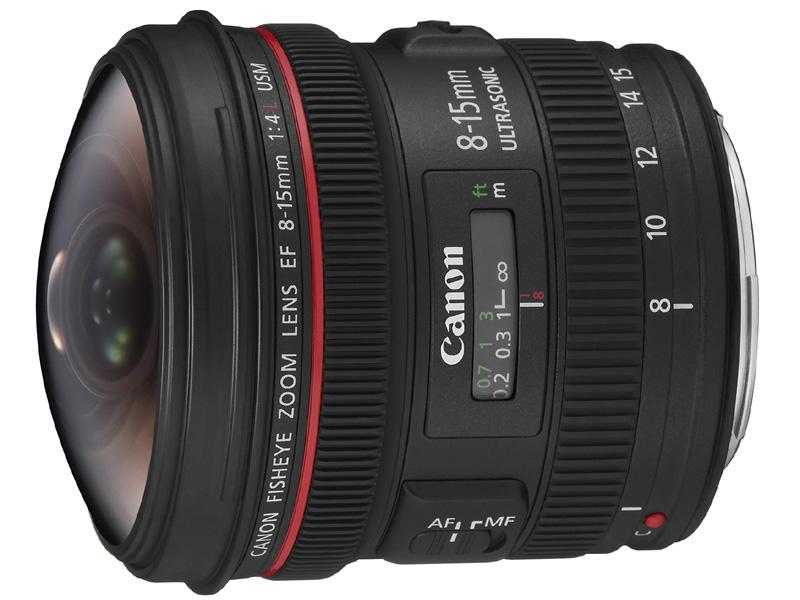【お取り寄せ商品】Canon EF 8-15mm F4 L Fisheye USM 【新品・メーカー保証書付】【店名:アサノカメラ】