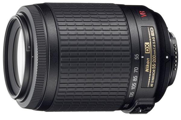 AF-S DX VR Zoom-Nikkor ED 55-200mm F4-5.6G(IF) 【新品・メーカー保証書付】【店名:アサノカメラ】