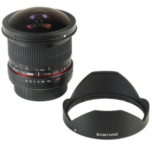 サムヤン SAMYANG 8mm F3.5 Fish-eye CS II AE ニコン用 【新品・メーカー保証書付】【店名:アサノカメラ】