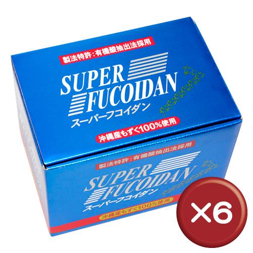 【送料無料】スーパーフコイダン 100ml×30袋 6個セットフコイダン・フコダイン|シーフコイダン[健康食品>サプリメント>フコイダン]