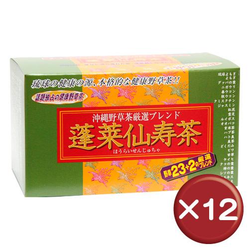 【送料無料】蓬莱仙寿茶 31袋(ティーパックタイプ) 12個セット|健康|美容[飲み物>お茶>野草茶]