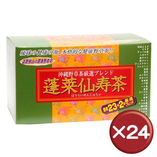 【送料無料】蓬莱仙寿茶 31袋(ティーパックタイプ) 24個セット|健康|美容[飲み物>お茶>野草茶]