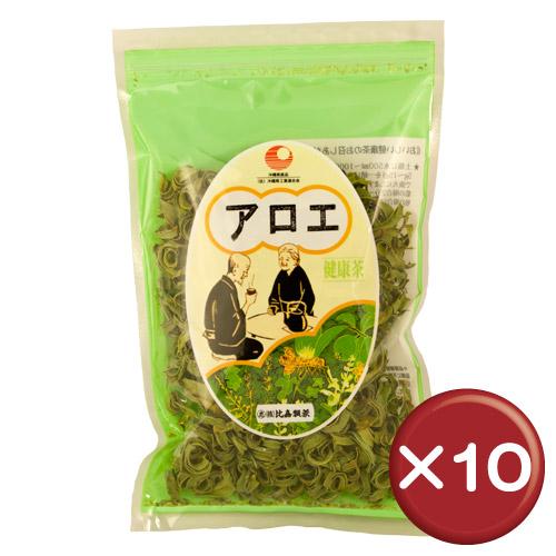 【送料無料】比嘉製茶 キダチアロエスライス(アロエ茶) 50g 10袋セットアロイン・アロエエモジン・アロエニン||[飲み物>お茶>アロエ茶]