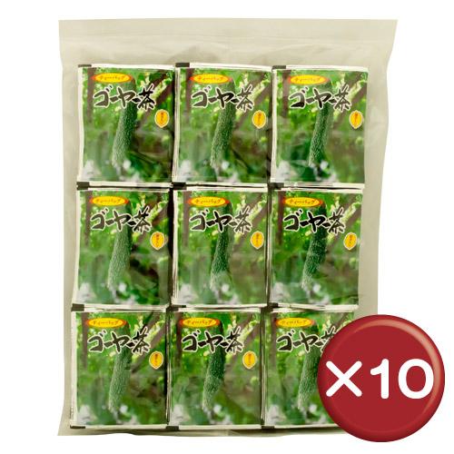 【送料無料】比嘉製茶 ゴーヤー茶 ティーバッグ(100袋入り) 10個セット共役リノール酸・ビタミンC||[飲み物>お茶>ゴーヤ茶]