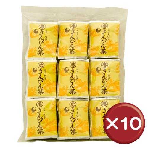 【送料無料】比嘉製茶 さんぴん茶 ティーバッグ(100袋入り) 10個セット 沖縄土産[飲み物>お茶>さんぴん茶(ジャスミン茶)]
