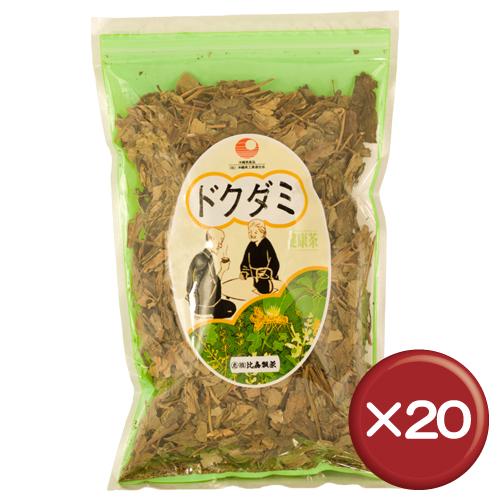 【送料無料】比嘉製茶 ドクダミ茶 100g 20袋セットフラボノイド・エルチトリン・イソクエルチトリン|||流す[飲み物>お茶>ドクダミ茶]