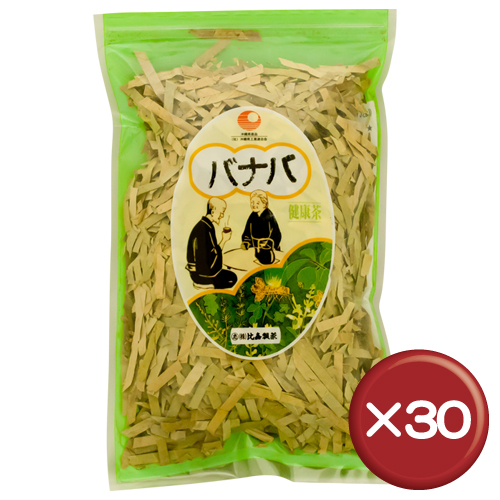 【送料無料】比嘉製茶 バナバ茶 100g 30袋セットコロソリン酸・食物繊維・カルシウム|[飲み物>お茶>バナバ茶]