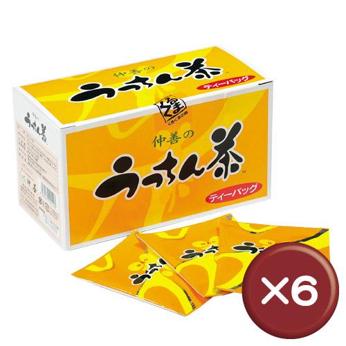 【送料無料】うっちん茶ティーバッグ 30包 6箱セットクルクミン・ミネラル [飲み物>お茶>ウコン茶]