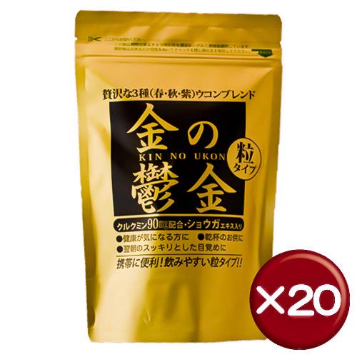 【送料無料】金の鬱金 30包 20袋セットクルクミン・ステアリン酸Ca・ショウガエキス|通販||健康[健康食品>サプリメント>ウコン]