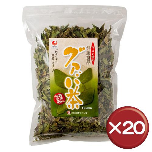 【送料無料】沖縄県産グァバ茶 100g 20袋セットポリフェノール・タンニン・ミネラル|美容|土産|通販[飲み物>お茶>グァバ茶]