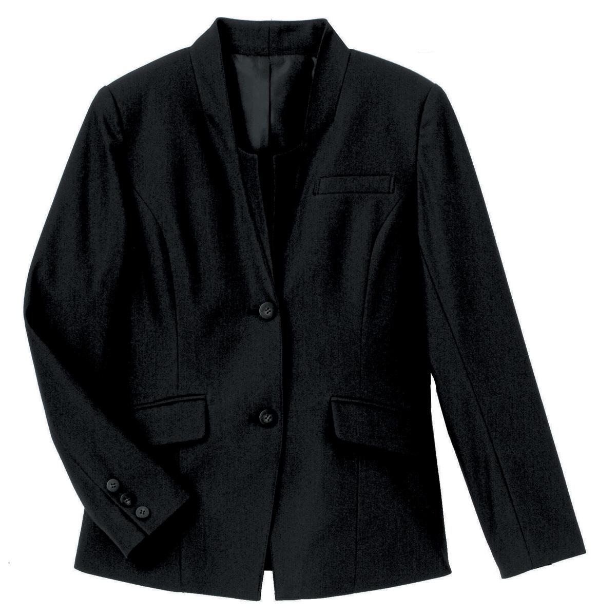 【ハネクトーン】スタンダードカラージャケットブラック(WP156-8)