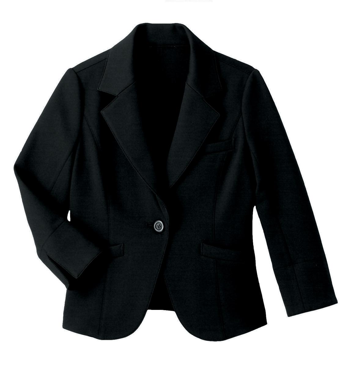 【ハネクトーン】ジャケット(裏なし)ブラック(WP159-8)