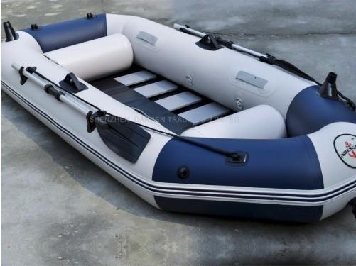 プロフェッショナル釣り ボート 耐摩耗 ゴムボート PVC 3人用 インフレータブル