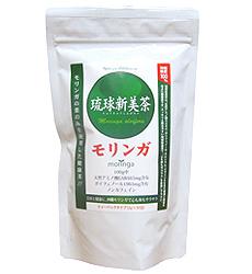 琉球酒井敦茶 (茶袋) 冲绳从辣木茶冲绳县的辣木使用 100%[60 g (2 g x 30 胶囊)] P15Aug15