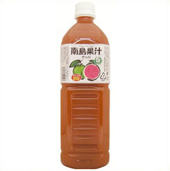 南島果汁 グァバ 1リットル(希釈5倍) 6本セット【送料無料】