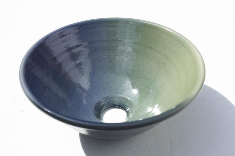 おしゃれ洗面ボウル グラデーション洗面鉢 NO-17[洗面ボール][洗面ボウル][手洗い鉢][手洗いボール]