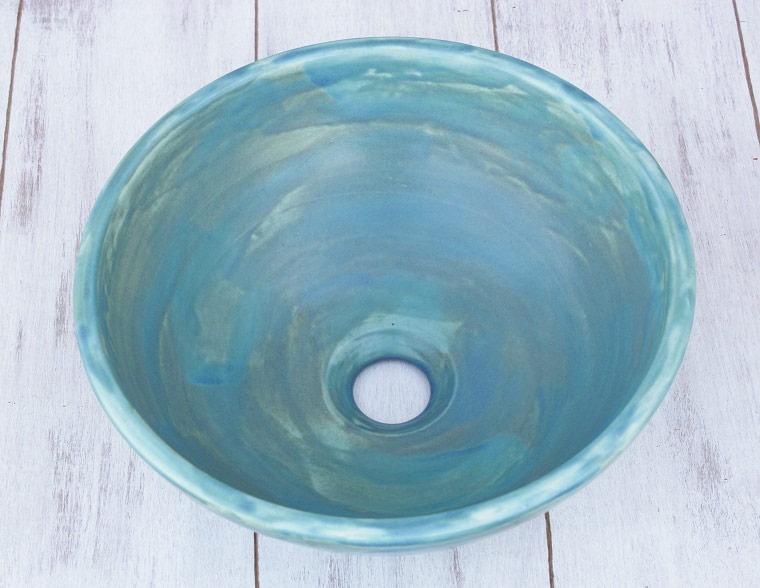 陶器製[洗面鉢][洗面ボール][洗面ボウル][洗面鉢][手洗いボール]