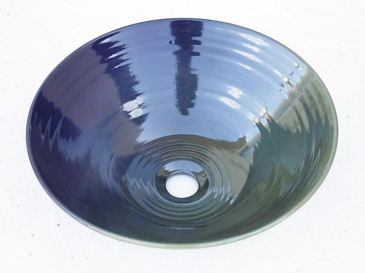 洗面ボウル/やちむんの洗面ボウル/沖縄の陶器/やちむんボウル/洗面ボール/洗面鉢